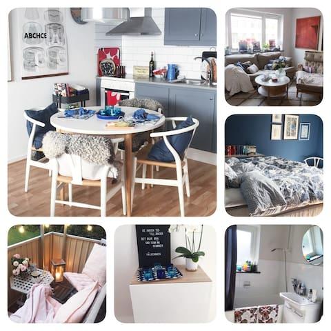 Cozy apartment in central Helsingborg - Helsingborg - Lägenhet