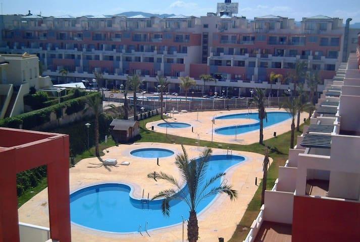 75m playa PLAYAZO, ADARIA-MARINA REY. - Vera - Appartement