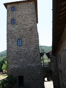 1st floor of the medieval tower of Mugnana Castle - Chiocchio