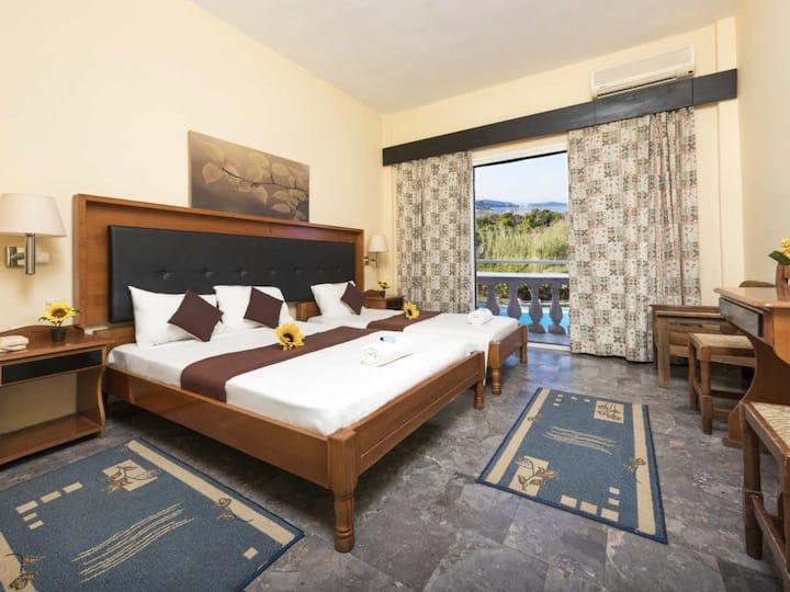 Triple room, Potamaki Beach Hotel by the Sea