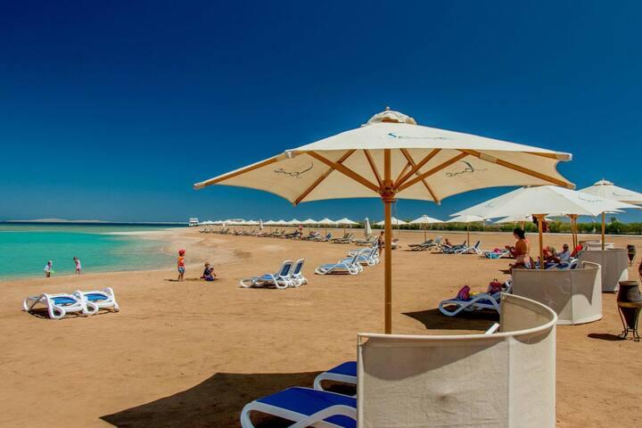 de luxe apartment on the beach