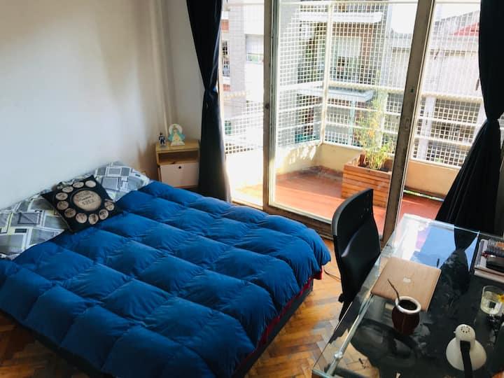 Habitación individual pleno Centro.
