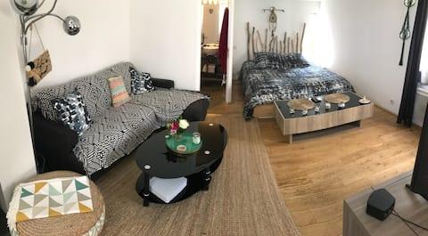 Ganske leilighet på 40m2 i St tropez