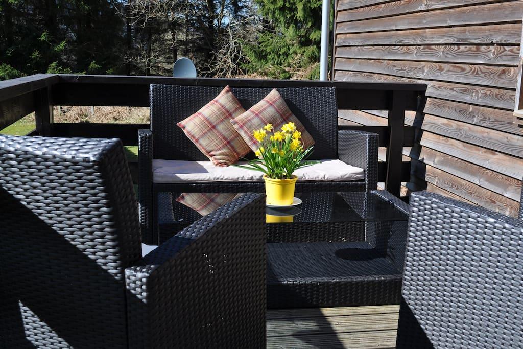 Lodge Tummel Terrace Seating