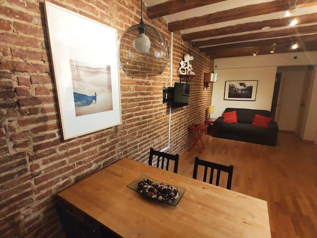Boho Soul & Artist apartment near Ramblas