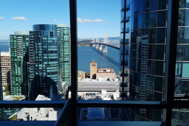 Luxury high rise executive 2Beds suite - San Francisco - Appartement