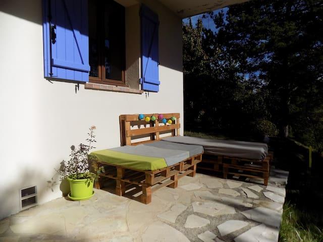 Chambre zen au coeur des montagnes avec SDB privée - Andon - Bungalo