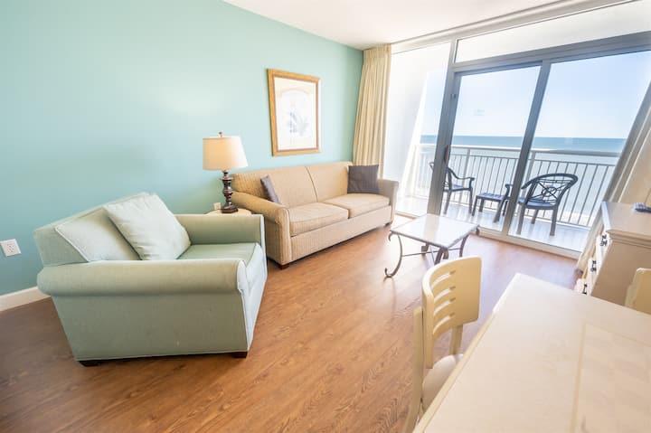 ❤️ Direct Oceanfront,Heated Pools Honeymoon Suite