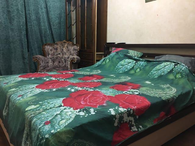 Комната с лоджией от метро 5 мин, от аэр Домод. 30