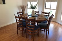 Dinning table for 6