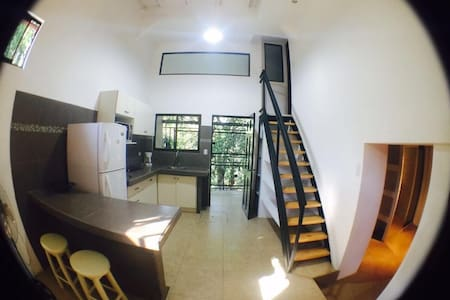 Beautiful loft style apartment, fully furnished.