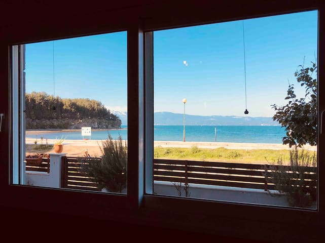 "Beach House ""Nasvol""  Plage Papathanasiou-Faros"