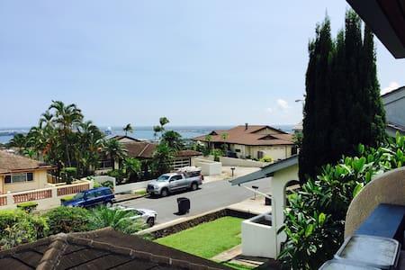 Pearl Harbor/ocean view home - Casa