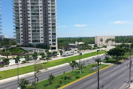 Down Town Room with AC, - Cancún