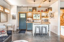 Main Kitchen Area  Photo: https://www.katiebowenphotography.com