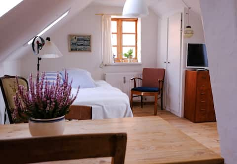 Cozy loft apartment in central Ebeltoft