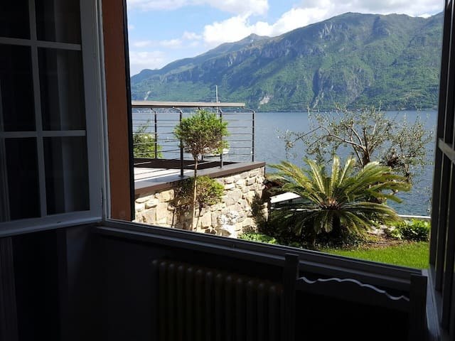 Lake view from bedroom