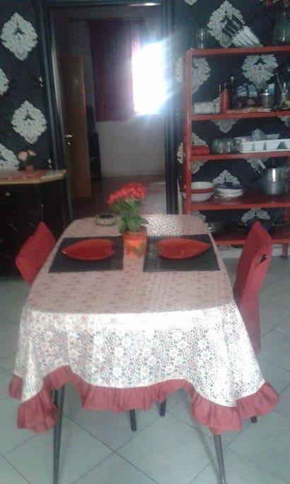 Camera da pranzo