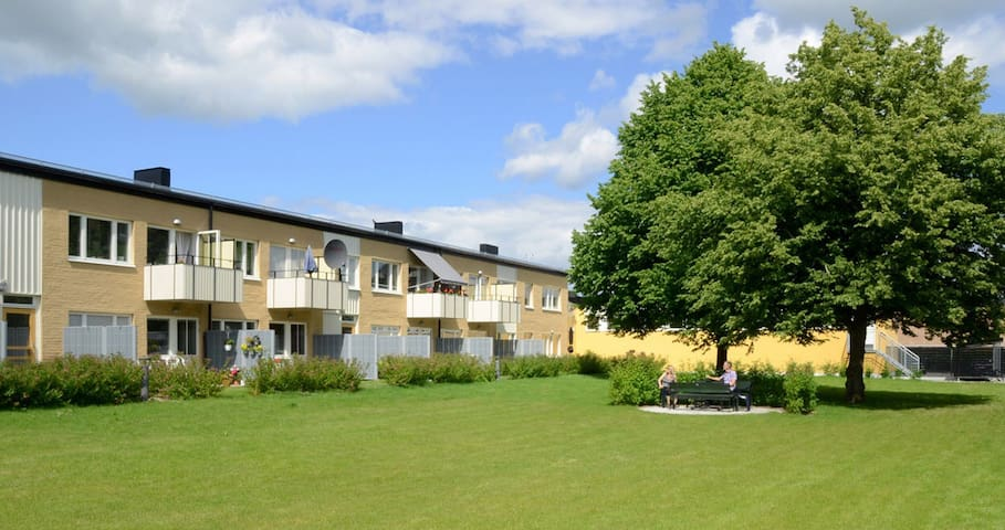 Modern city flat in green area - Uppsala - Leilighet