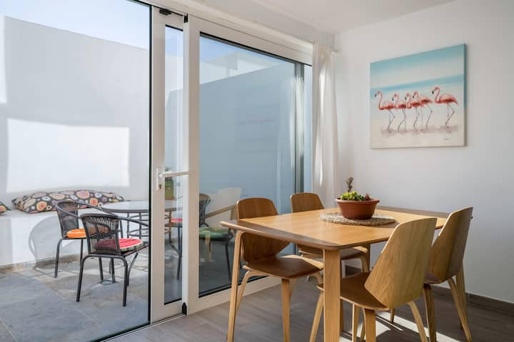 "Holiday Apartment ""Sports and Sea Apartment 1"" with Pool, Wi-Fi, A/C, Terrace & Sauna; Parking Available"