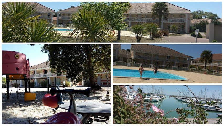 Heated pool / Beach / Ocean / Residence 3-Stars