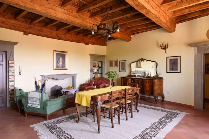Tuscany apartment nearby Florence, Siena, Arezzo