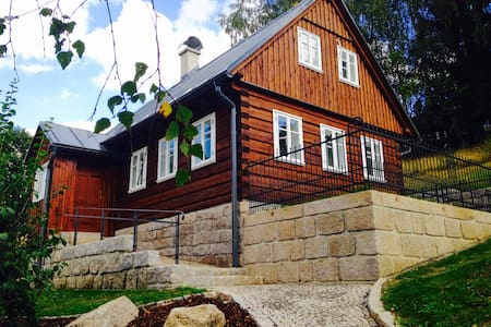 Beautiful Chalet in  Jizera mountains - Janov nad Nisou - Huis