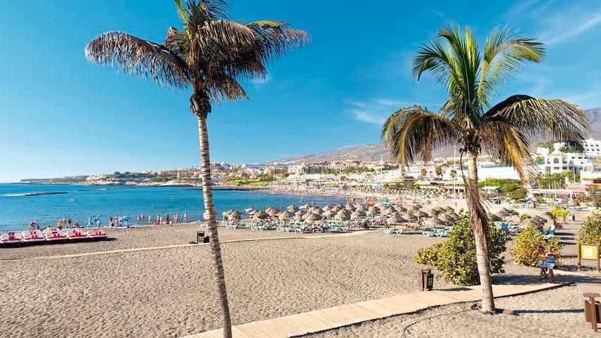★ Charming Central 1BR Los Cristianos, Tenerife ★ - Los Cristianos - Huoneisto
