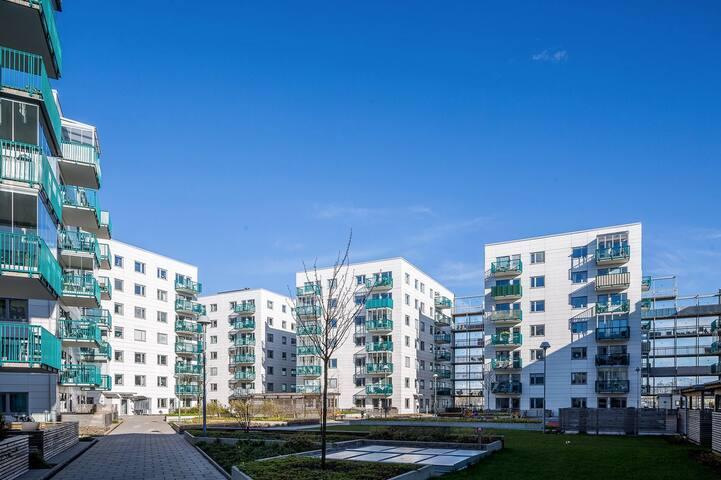 Hyr ut korttidsboende centralt - 哥德堡 - 公寓