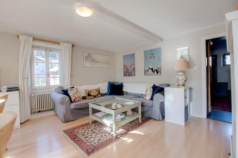 Two Bedroom Apartment with Balcony and Garden