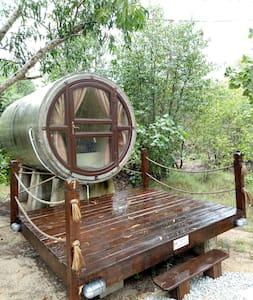 TUBECABIN #1 at kekunang tering chalet rm :129/day