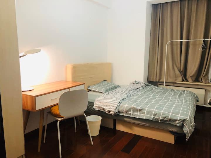 【望京】独立卧室  温馨单人间 步行10分钟到望京站