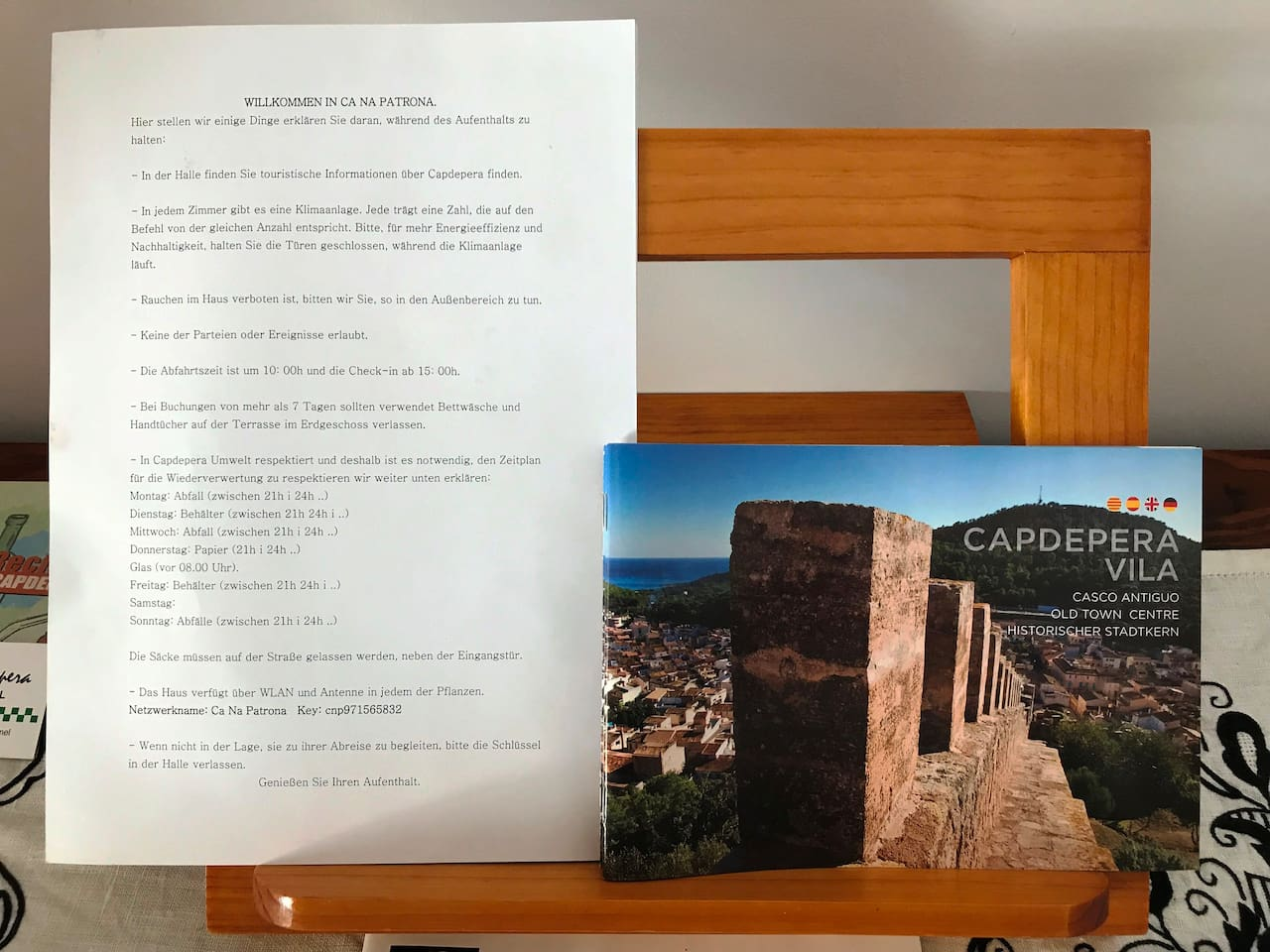 Ca na Patrona,viewpoint to the Castle of Capdepera - Houses for Rent ...