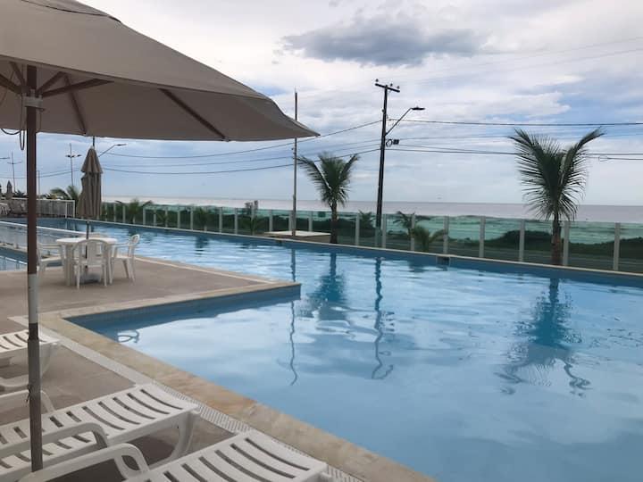 Apartamento Beira Mar Cond. Ilhas do Atlântico