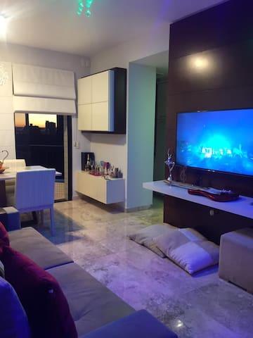 Flat no Hotel Ilha Bela-Mobiliado (Região Central)