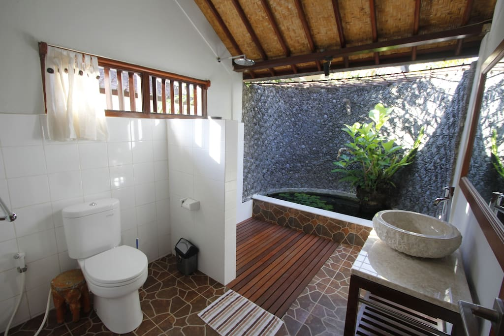 full view from bathroom