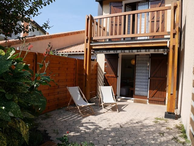 Villa patio au Port de plaisance de Capbreton