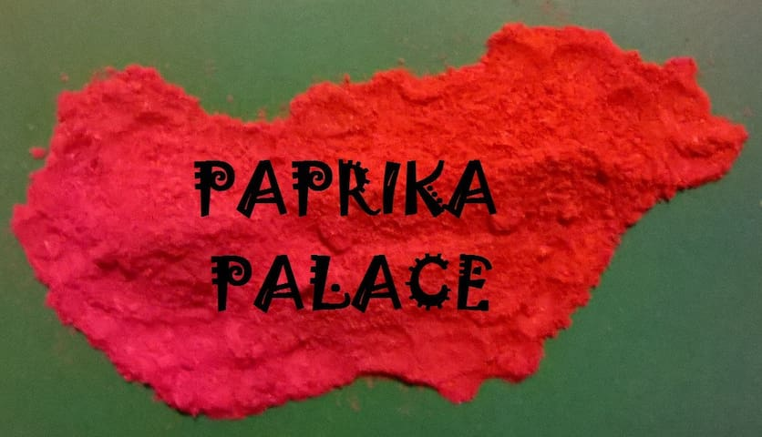 Paprika Palace in Central Budapest