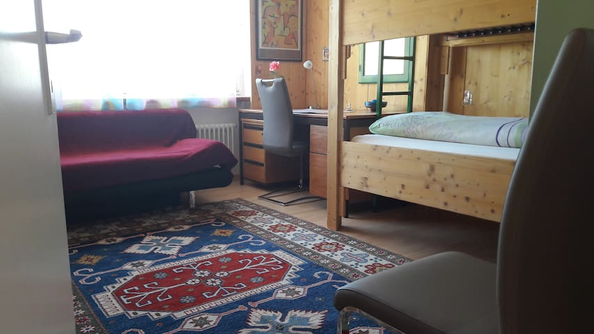 Zimmer für einen oder zwei in Liechtenstein.. - Schaanwald - Casa