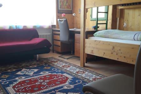 Zimmer für einen oder zwei in Liechtenstein.. - Schaanwald - Haus