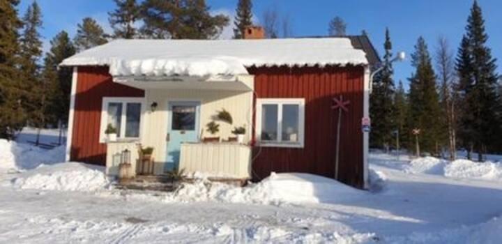 Stuga B på lev.fäbodvall Sonfjället Härjedalen