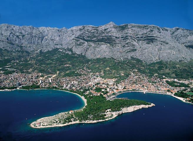Ferienwohnung direkt am Meer - Makarska - Apartment