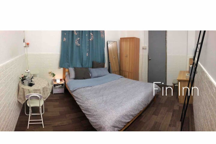 「Fin Inn」温馨舒适|清新可爱|龙洞步行街|6号线植物园地铁站