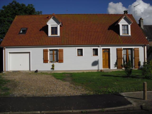ma maison au calme à 10 mn du centre d'Amiens