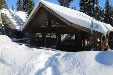 Apex Mountain Log cabin-Quite and Private -  Hedley, - Hus
