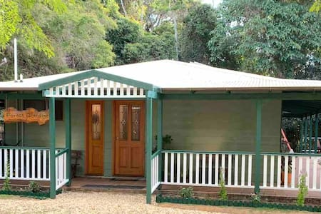 A Rainforest Cottage in Lamington National Park.