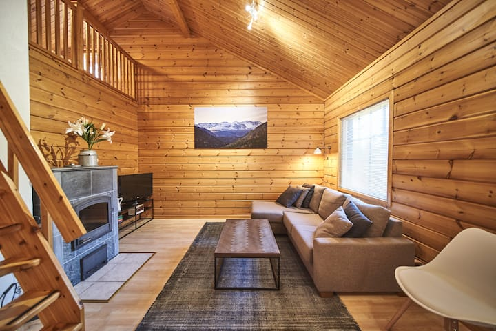 Lumea Cabin Levi, a quiet location near ski trails