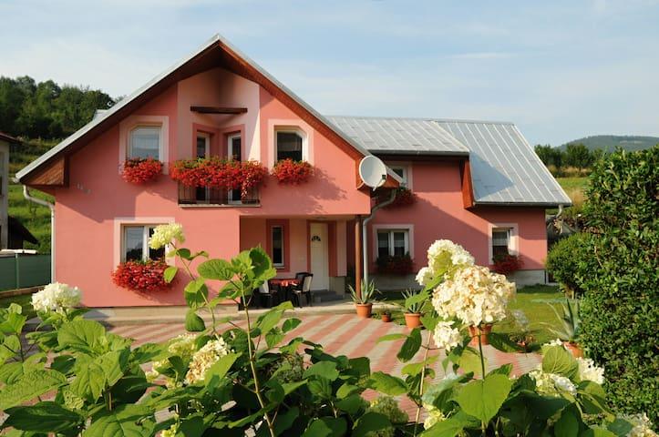 Izba alebo celá chata/ Double or triple room - Terchová - Casa