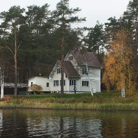 House on the lake long With all amenities