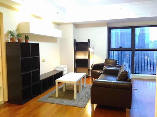 深圳罗湖万象城Mixc、地王大厦旁近東門老街舒适安静双地铁新装公寓 - Shenzhen - Apartamento
